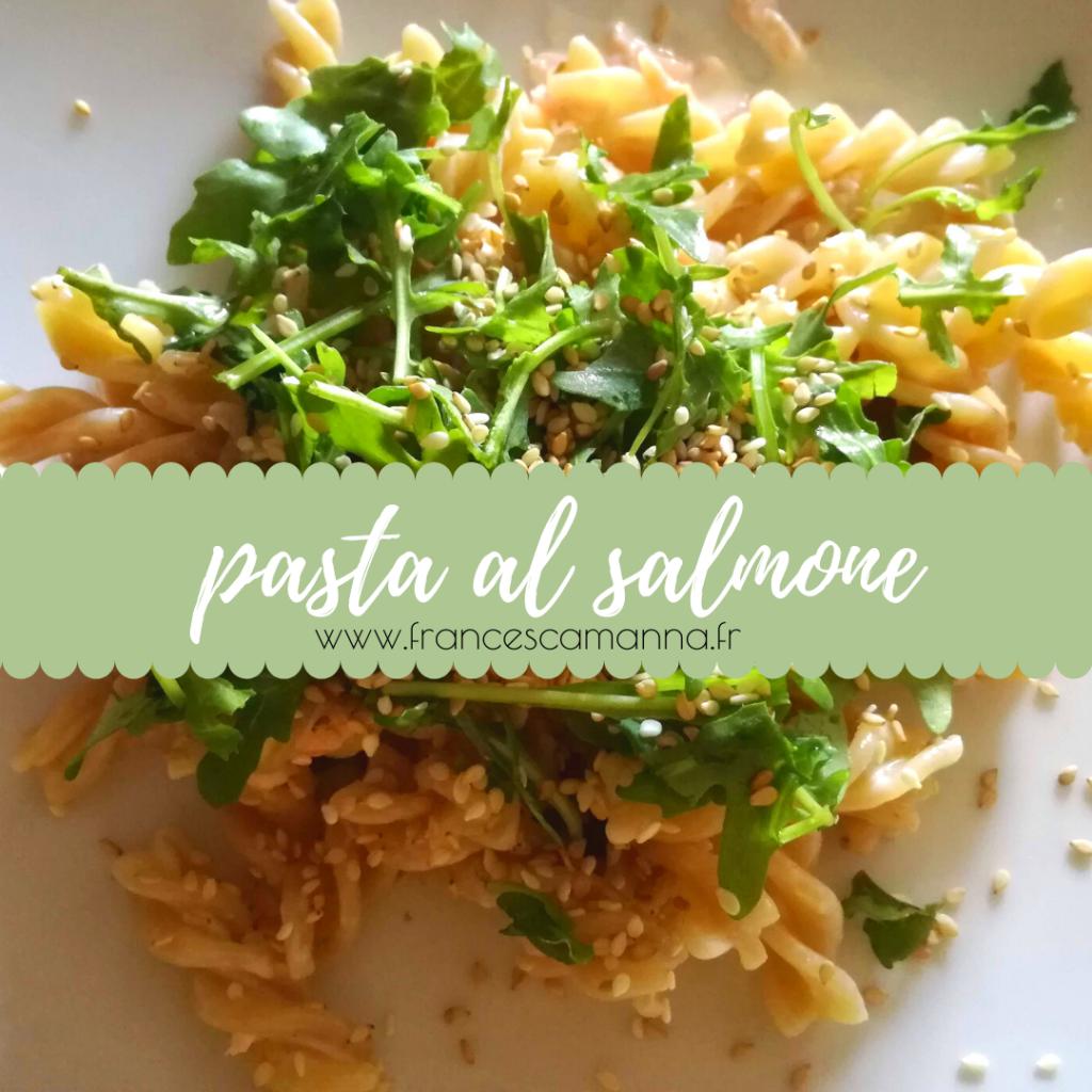 pasta al salmone by Francesca Manna Naturopathe