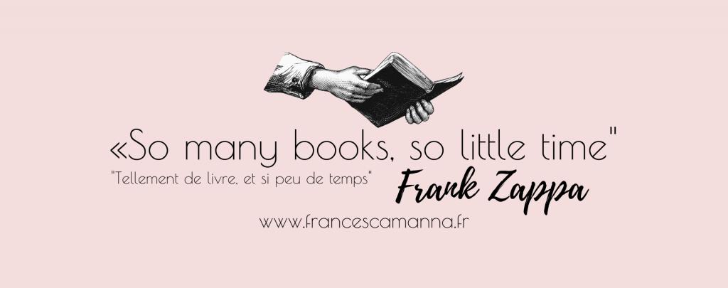 so many books citation zappa Francesca Manna
