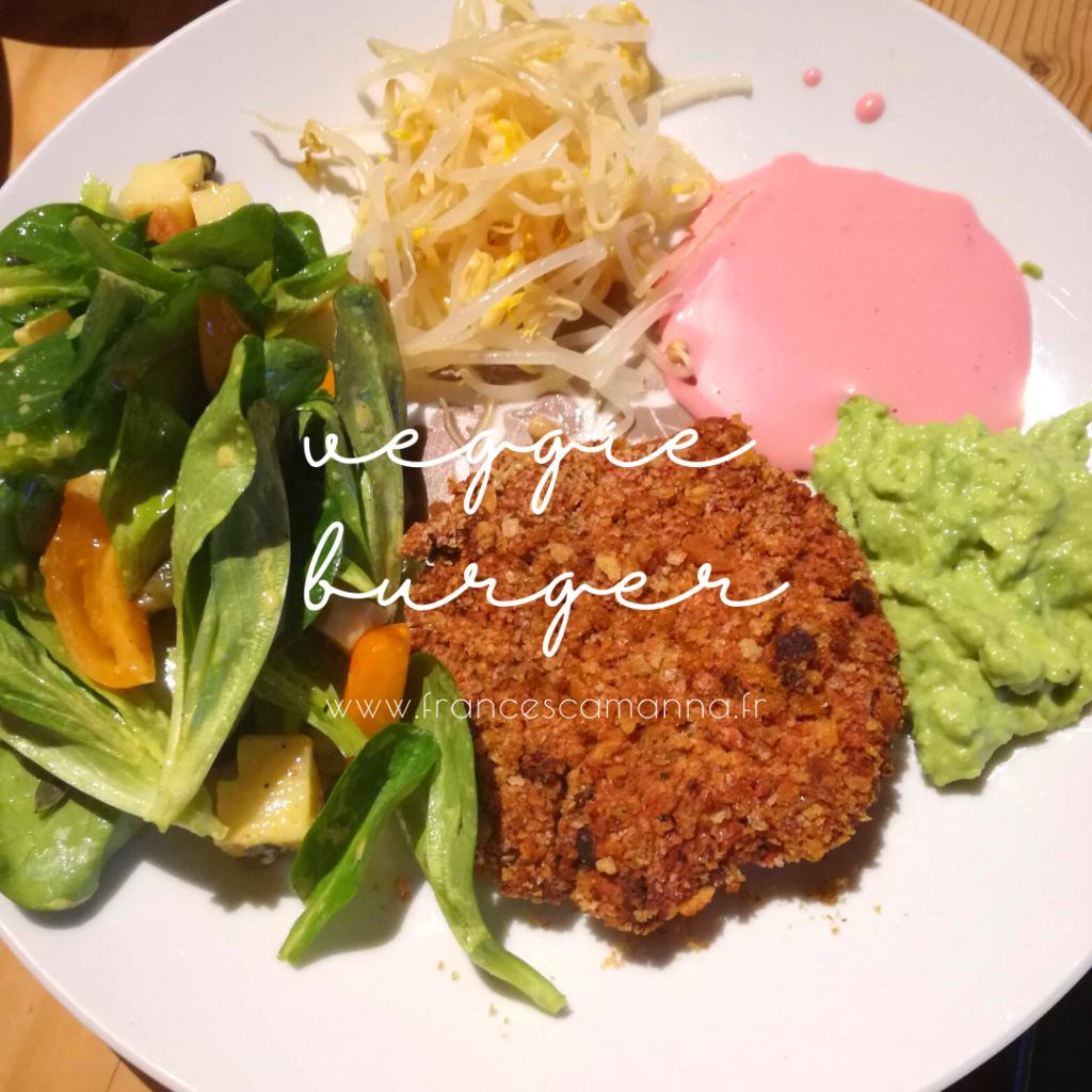 recette veggie burgers aux haricots et betterave Francesca Manna Naturopathe