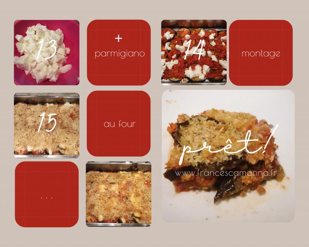 photo recette melanzane alla parmigiana light