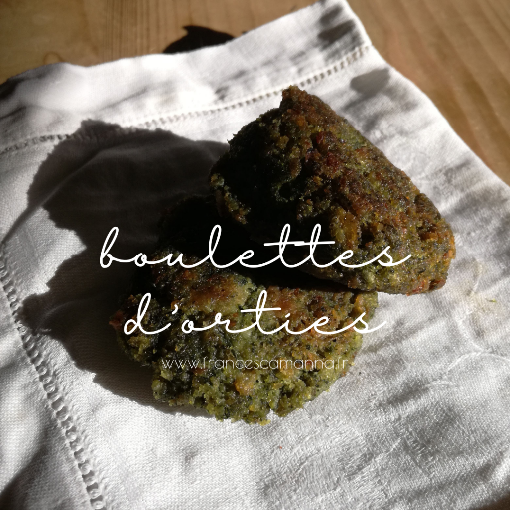 mes boulettes aux orties