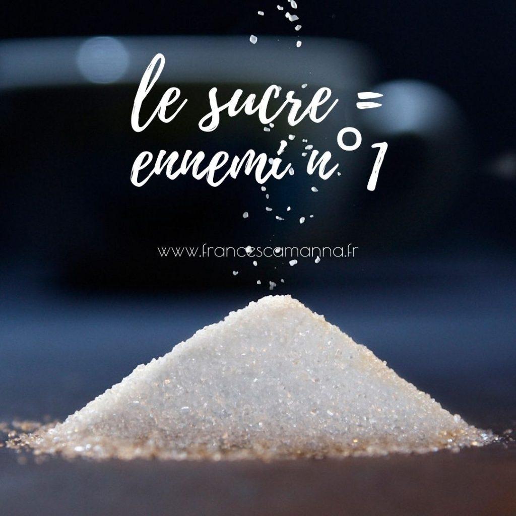 le sucre blanc = nenni n°1 de la santé